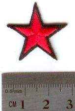 Parche bandera bordado Che guevara estrella 2.5 cm PATCH termoadhesivo
