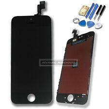 Black Apple iPhone 5S SE LCD Screen Digitizer Touch Glass Lens Unit Replacement