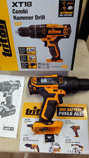 BARGAIN! NEW TRITON 18V COMBI HAMMER / IMPACT DRILL (BARE) 3 sold (RRP $128.)