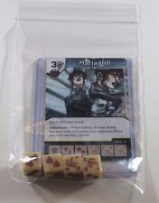 Marvel Dice Masters Civil War * MARIA HILL * RARE Uncommon Set CUR + 4 dice