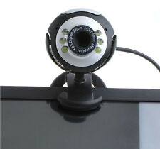 HD 50.0M 6 LED USB Webcam Camera With Mic & Night Vision For PC Desktop Laptop