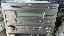 VW VOLKSWAGEN RCD 200 MP3 RADIO CD PLAYER POLO mk4F LIFTING GOLF MK4 Passat Mk5