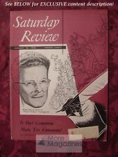 Saturday Review January 10 1953 EDGAR JOHNSON JOSEPH WOOD KRUTCH ADA NESBIT