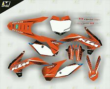 2013 2014 2015 KTM SX SX-F 125 150 250 350 450 GRAPHICS KIT MOTOCROSS DECALS