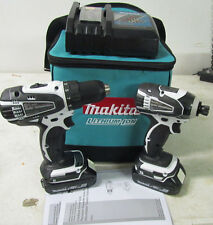 Makita Tools CT200RW 18V LXT Compact Lithium-Ion Cordless Drill Driver Combo Kit