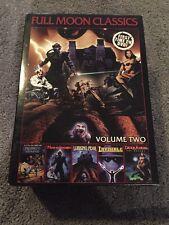 Full Moon Classics, Vol. 2 (DVD, 2007) 5-Disc Set Ultra-Rare Lurking Fear OOP!!