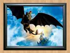 How To Train Your Dragon # 1 Cartoon MOVIE A4 PRINT POSTER PHOTO WALL PICTURE 2