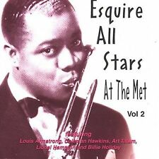 ESQUIRE ALL STARS ARMSTRONG HOLIDAY TATUM HAMPTON ETC CD - FREE SHIP/LIKE NEW!