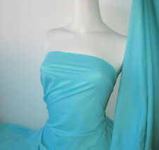 lightcyan Lycra/Spandex 4 way stretch Finish Fabric