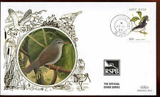 St. Lucia 1998, $1.10 Life, Birds Silk Cover #C14143