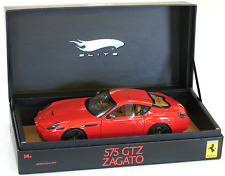 Hot Wheels Super Elite Ferrari 575 GTZ Zagato Red 1:18  #L7122