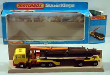 DTE LESNEY MATCHBOX SUPERKINGS SK-43 LOG TRANSPORTER NIOB