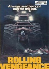 Rolling Vengeance DVD Trucker Adventure - Don Michael Paul - Lawrence Dane