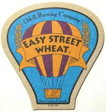 EASY STREET WHEAT Balloon shaped Beer COASTER, Mat, Odell Brewing, COLORADO