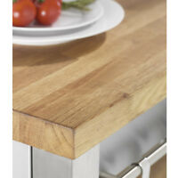 Solid Wood Rustic Oak Timber Worktops and Breakfast Bars, Variety of Sizes