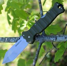 Couteau Cold Steel Immortal Tanto Lame Acier CTS-XHP Manche Green G-10 CS23GVG