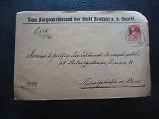 BAVIERE (allemagne) - enveloppe 1919 (cy91) germany (A)