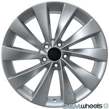 "18"" SILVER TURBINE STYLE WHEEL FIT VW GOLF R R32 GTI JETTA MK5 MKV MK6 MKVI RIMS"