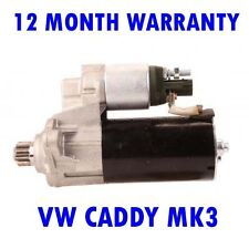 VW CADDY MK3 MK III 1.9 BOX 2004 2005 2006 2007 - 2010 RMFD STARTER MOTOR