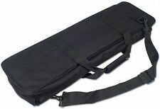 Large Black Tournament CHESS BAG - Travel with your Chess Pieces, Roll-up Board!