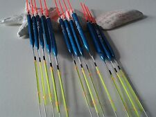 HAND MADE POLE FISHING FLOATS - RIZOV RF101 - 12 PCS. - 3x0.4/0.6/0.8/1 GR.