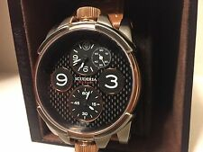 CT Scuderia Watch 2 TEMPI 44mm Stainless Brown Leather Band CS40301