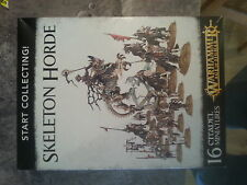 WARHAMMER AGE OF SIGMAR START COLLECTING SKELETON HORDE - NEW & SEALED
