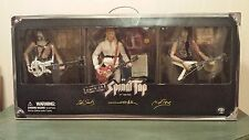 "THIS IS SPINAL TAP 12"" ACTION FIGURE COLLECTION  SIDESHOW GUITAR CASE & PASS LOT"