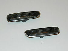 BMW 3 Series E46 1998-2004 Front Side Smoked Indicators Repeaters PAIR