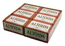 ALTOIDS Peppermint Fresh Breath strong bulk candy Tins Mint  12 counts