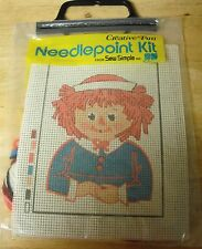 RAGGEDY ANN Needlepoint Kit by Creative Fun Sew Simple