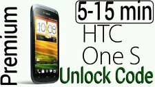 Unlock Code T-Mobile HTC One S , My Touch Inspire 4G Amaze AT&T 5-15min PREMIUM