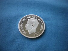Fantasy Silver Half Crown 2/6 Size coin portrait of Edward VIII date 1937
