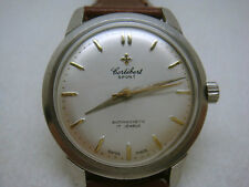 Vintage swiss made CORTEBERT 17J men's watch 1950's-9227