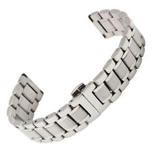 New Solid Stainless Steel Strap Bracelet Watch Strap Band For Longines