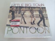 "Little Big Town Limited Edition 7"" Vinyl Pontoon/Leavin' In Your Eyes & L/XL Tee"