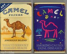 CAMEL FILTERS cigarette Duty Free empty box ART Collection '90 - Smoking causes