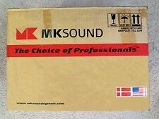 MK Sound SS-150 THX  ULTRA II,  MKII TRIPOLE SURROUND SPEAKERS  BLACK