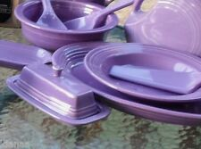 COVERED BUTTER DISH lilac NEW HOMER LAUGHLIN FIESTA 1st
