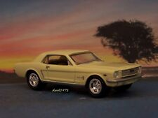 1964 -1/2  / 1965 FORD MUSTANG 1/64 SCALE COLLECTIBLE DIECAST MODEL - DIORAMA