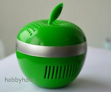 Plastic Apple  USB-powered ionizer air purifier for home, office, car
