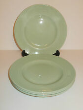 4 x Vintage Woods Ware Beryl Green Side Tea cake Sandwich Plates - Lovely