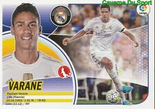06A RAPHAEL VARANE FRANCE REAL MADRID RC.LENS STICKER LIGA 2017 PANINI
