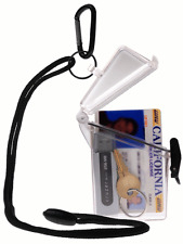 Witz See-It-Safe Clear ID Case - Waterproof
