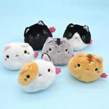 1 Pc Cartoon Animal Cat Soft Plush Toy Doll Mini Kids Children Home Decor Random