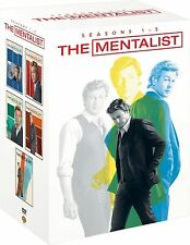 Mentalist Complete DVD Box Set Collection Season 1+ 2+ 3+ 4+ 5  Brand New