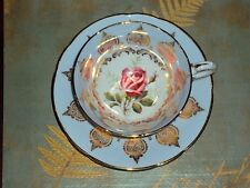 Vintage Wide Mouth Large Rose Paragon Tea Cup & Saucer
