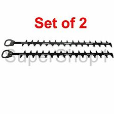 "Set of 2 530mm (21"") Hedge Trimmer Blades for Kawasaki - Rep 59004-V007"