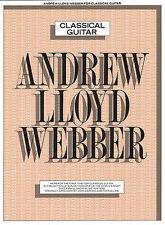 Andrew Lloyd Webber Guitarra Clásica Aprende A Tocar La fase Musicales De La Música Libro