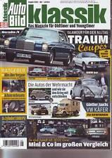 Auto Bild Klassik 5/13 Mercedes W114 250 CE/BMW 628 CSi/ Wehrmacht Autos/2013